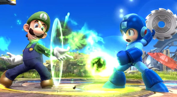 Luigi Super Smash Bros