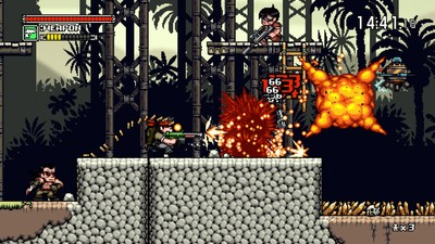 Mercenary Kings Screenshot - Killing enemies