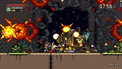 Mercenary Kings Screenshot - Playing as a mercenary