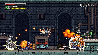 Mercenary Kings Screenshot - Shooting to kill