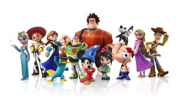 Disney Infinity Fall holiday character lineup