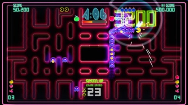 Pac-Man Championship Edition DX Screenshot - Pac-Man Championship Edition DX+