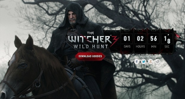 The Witcher 3: Wild Hunt Screenshot - The Witcher 3 teaser countdown