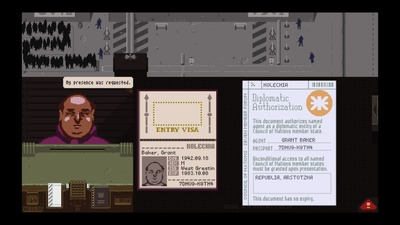 Papers, Please Screenshot - Papers!
