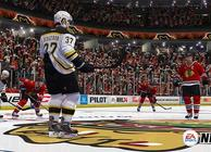 nhl 14 bruins blackhawks faceoff
