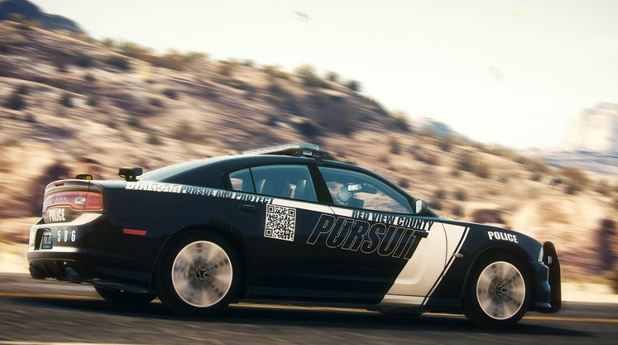 Need for Speed Rivals Screenshot - Cop car