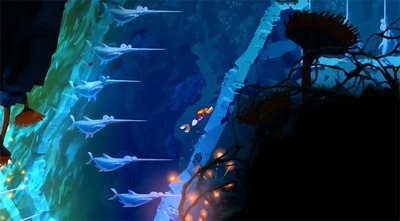 Rayman Legends Screenshot - Rayman Legends Gloo Gloo