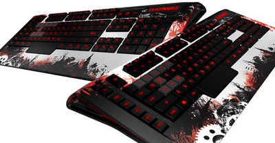 Guild Wars 2 Screenshot - Guild Wars 2 ArenaNet SteelSeries keyboard