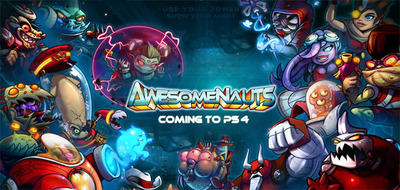 Awesomenauts Screenshot - Awesomenauts announced for PlayStation 4