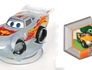 Infinite Crystal Series - Lightning McQueen, Mike Car Power Disc