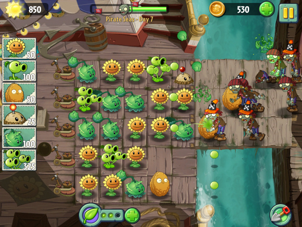 Plants vs. Zombies 2 - 1