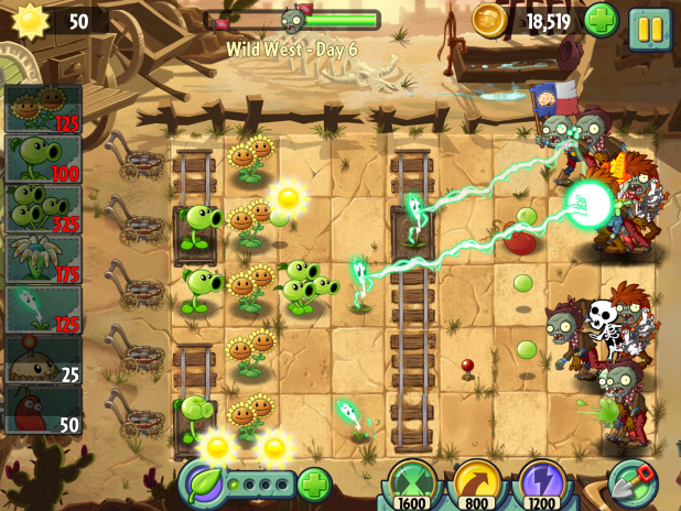 Plants vs. Zombies 2 - 2