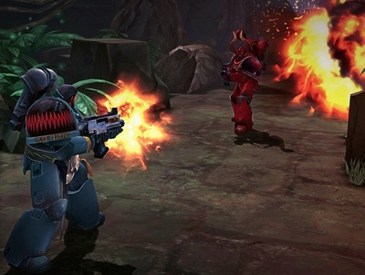 Warhammer 40,000 Fire Warrior Screenshot - Warhammer 40,000: Space Wolf
