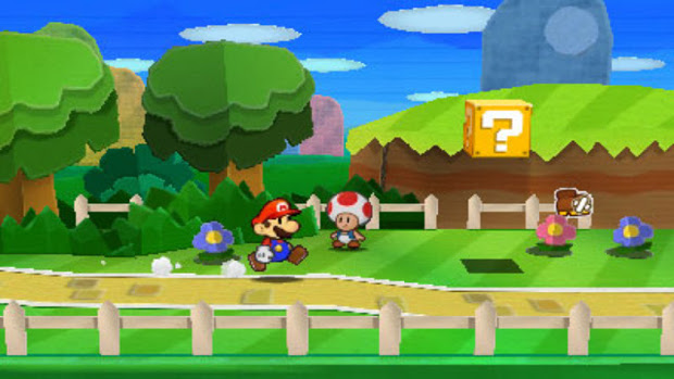 Paper Mario: Sticker Star - 3DS - 1