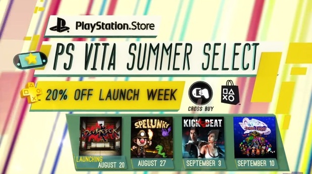 PS Vita summer select sale