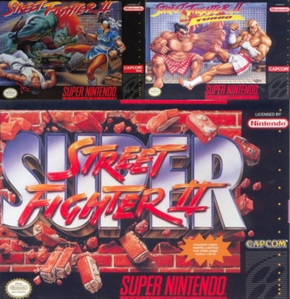 Street Fighter II Screenshot - snes super street fighter 2