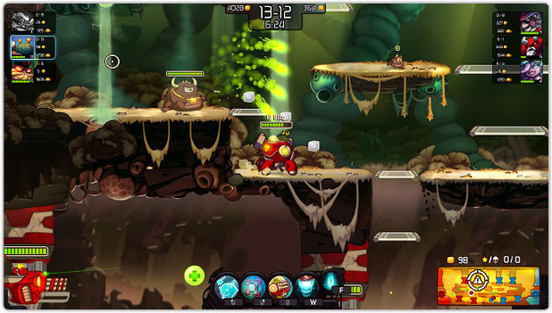 Awesomenauts Screenshot - 1151676