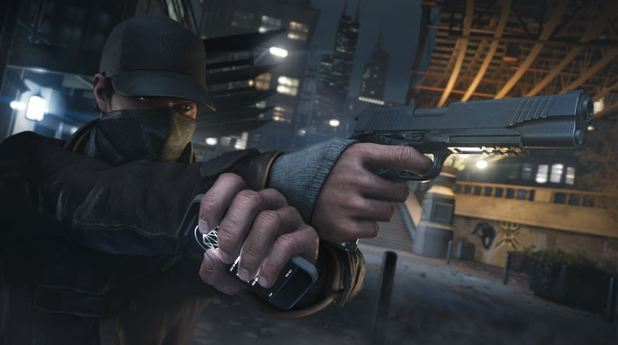 Watch Dogs Screenshot - Aiming a gun