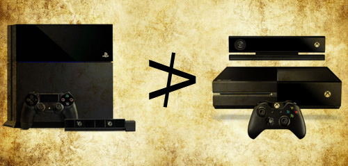 PS4 is not better than the Xbox One