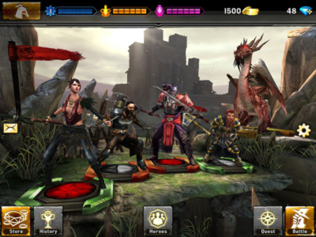 Heroes of Dragon Age small