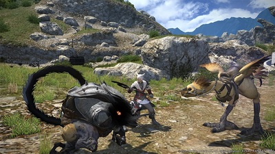 Final Fantasy XIV: A Realm Reborn Screenshot - Final Fantasy XIV: A Realm Reborn