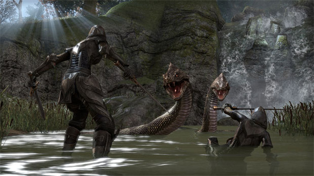 The Elder Scrolls Online Screenshot - TESO screenshot serpent
