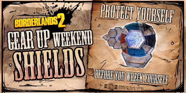 Borderlands 2 Shields