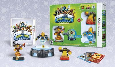Skylanders SWAP Force on 3DS