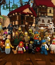 LEGO Minifigures MMO (working title) Boxart