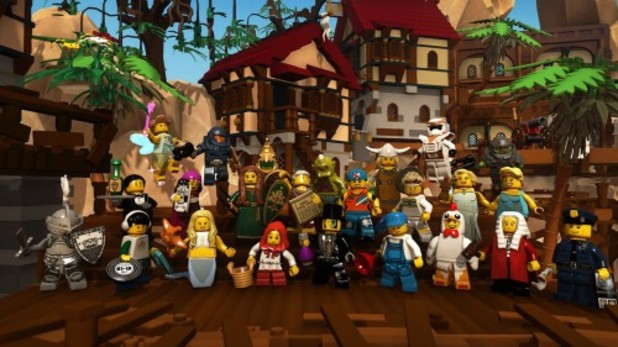LEGO Minifigures MMO (working title) Screenshot - Lego Minifigures Online