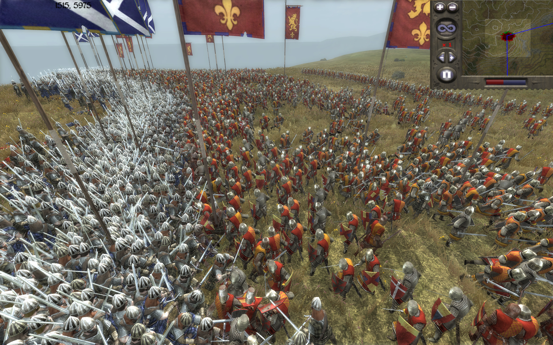 Medieval Total War 2 France vs England