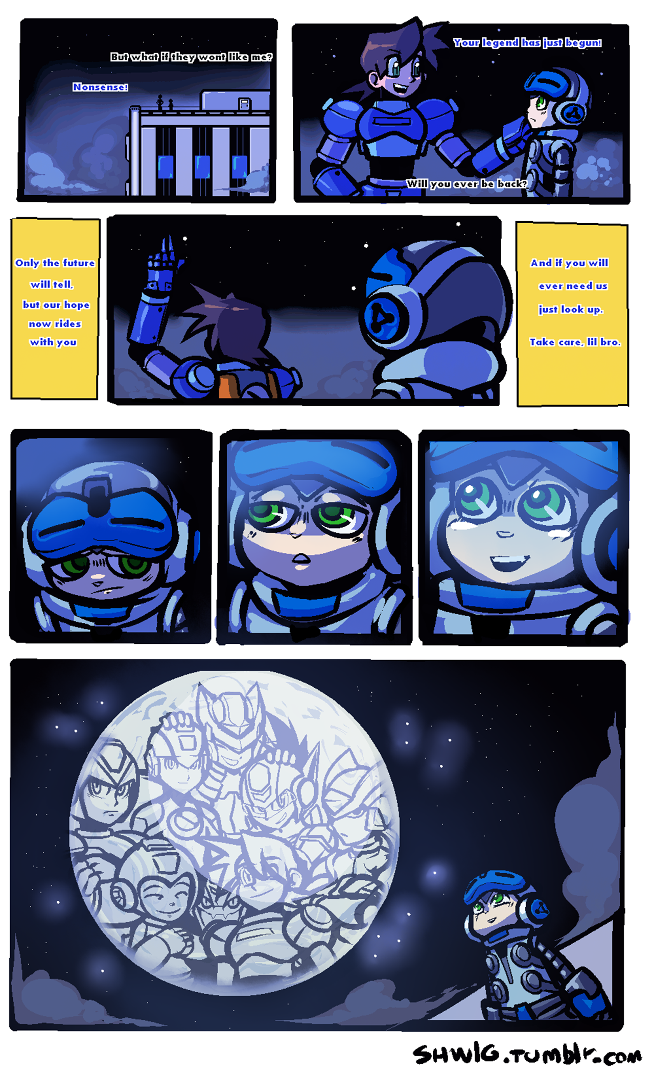 Mega Man Mighty No. 9 comic
