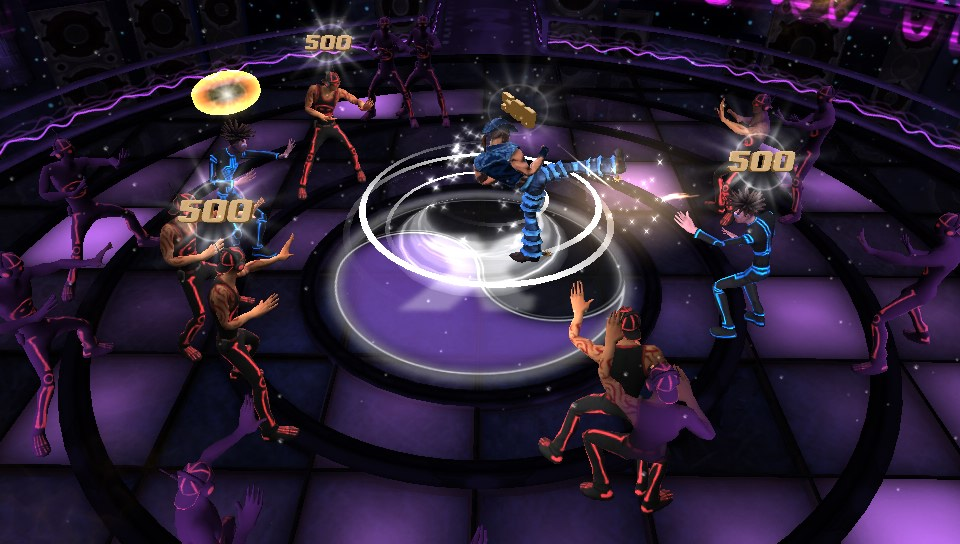 Kickbeat gameplay on PS Vita
