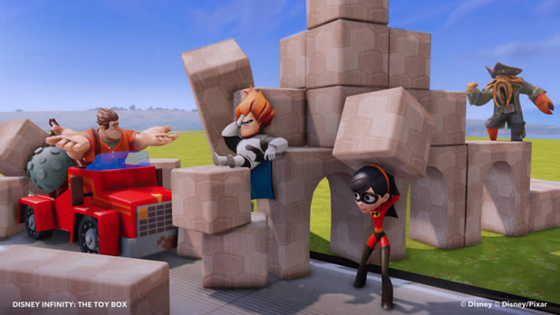 Disney Infinity Screenshot - disney infinity toy box wreck it ralph destruction