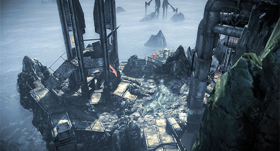 Killzone Mercenary beta map overhead