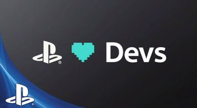 PlayStation 4 (console) Screenshot - PlayStation hearts indie devs