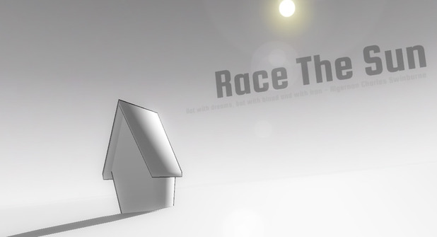 Race The Sun Screenshot - Main Screen