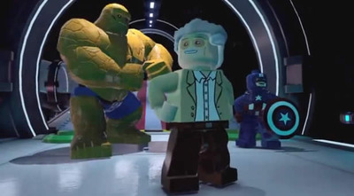 LEGO Marvel Super Heroes Screenshot - stan lee lego marvel super heroes