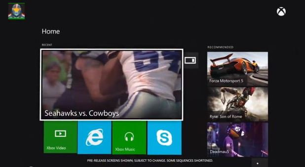 NFL on Xbox One