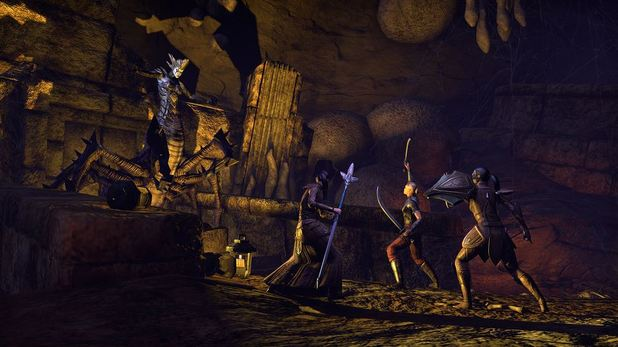 The Elder Scrolls Online Screenshot - TESO dungeon