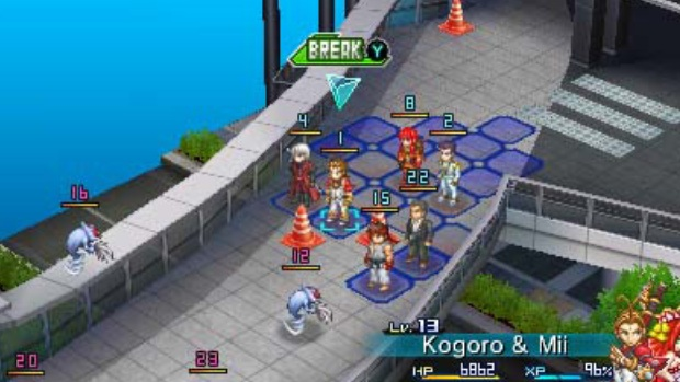 Project X Zone - 3DS - 3