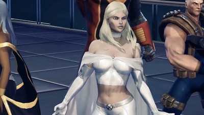 Marvel Heroes Screenshot - emma frost marvel heroes
