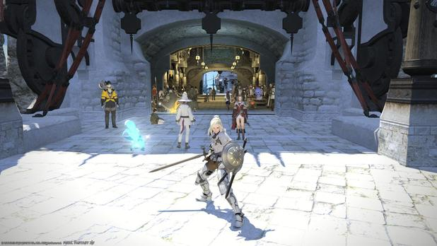 Final Fantasy XIV: A Realm Reborn Screenshot - final fantasy xiv: a realm reborn paladin