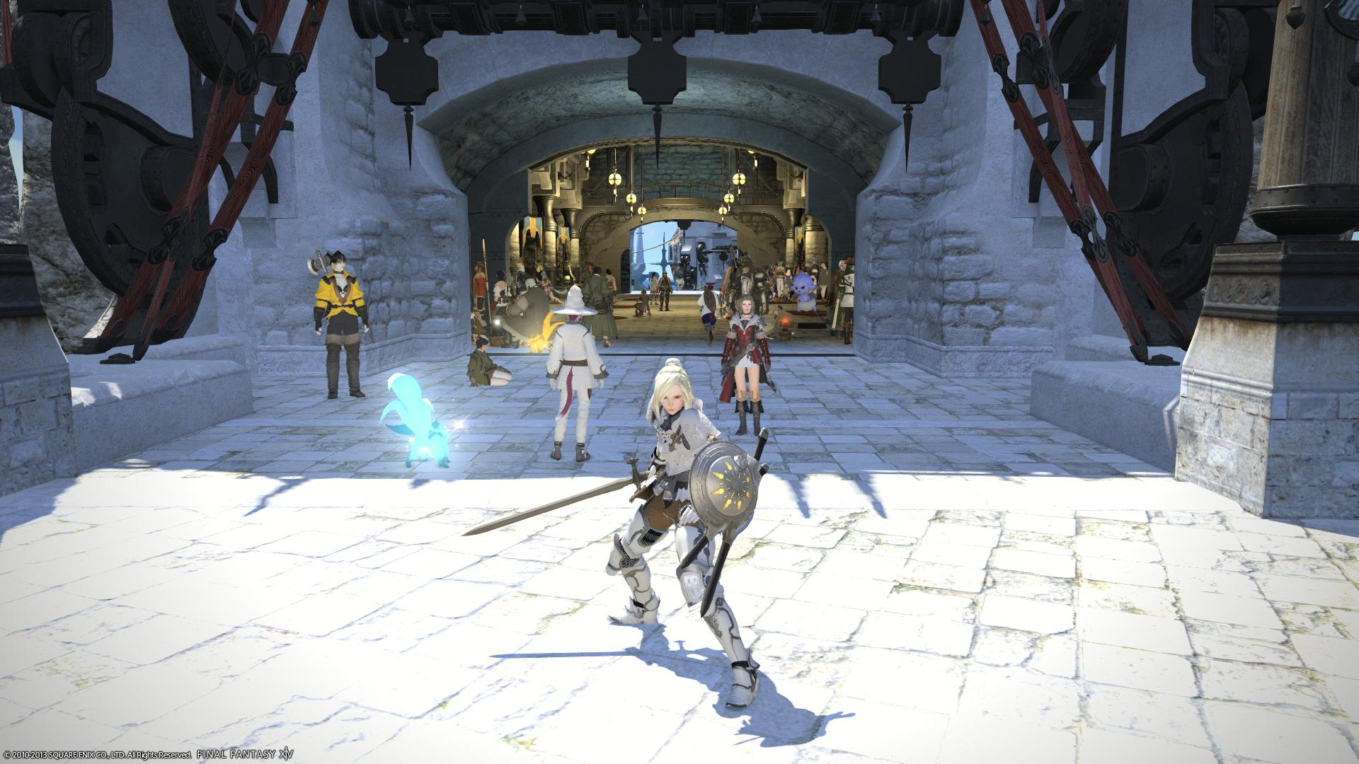 PS4 Final Fantasy 14: A Realm Reborn beta starts on Feb. 22, 2014 in ...