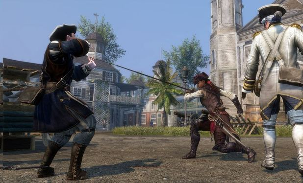 Aveline kicking ass