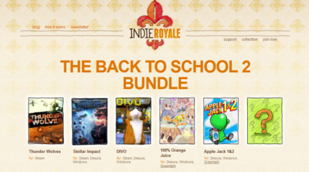 Indie Royale Back to School 2