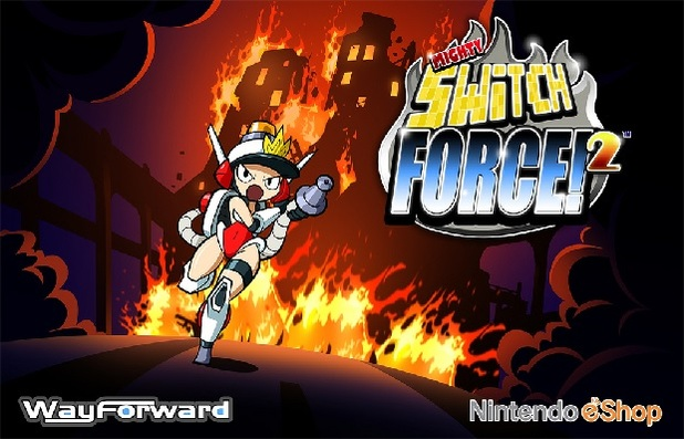 Mighty Switch Force 2 Screenshot - mighty switch force 2