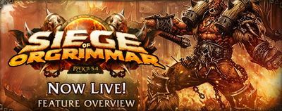 Siege of Orgrimmar World of Warcraft