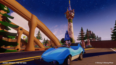 Disney Infinity Screenshot - classic cruise sorcerer mickey toy box