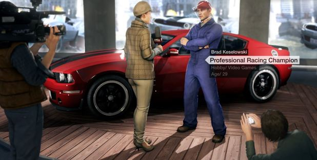 Watch Dogs Screenshot - Brad Keselowski Watch Dogs